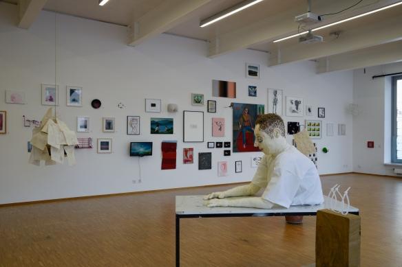 Galerie der Hochschule der Bildenden Kuenste, Ausstellung