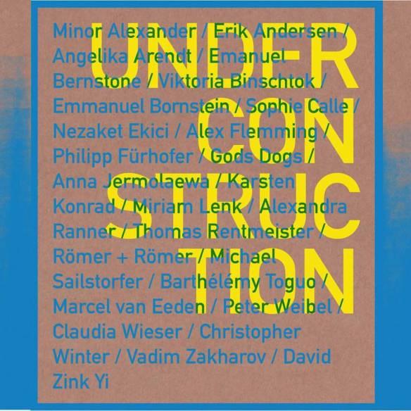 Einladungskarte Under Construction